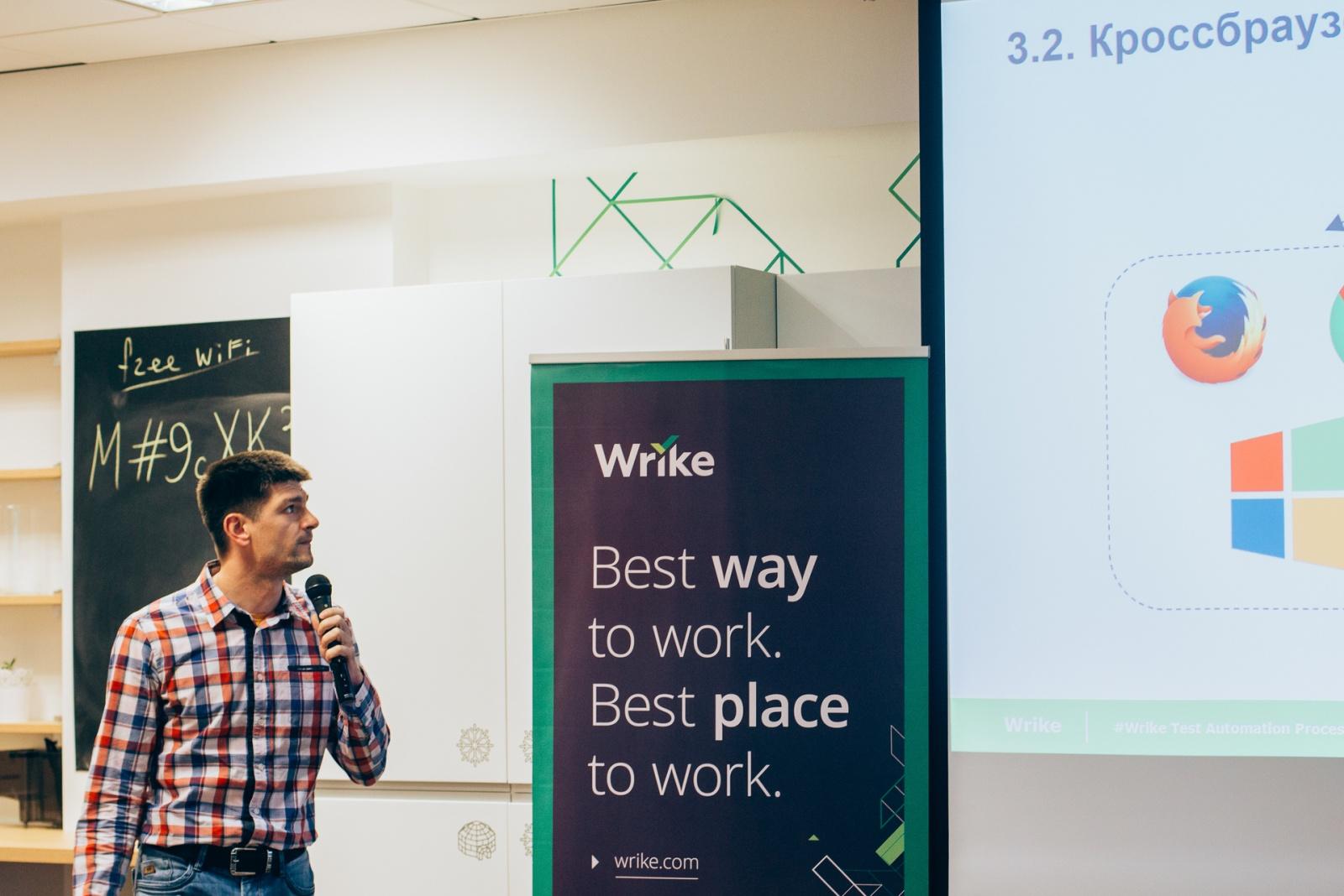 Как построить грамотную систему тестирования? Инсайты от QA-экспертов: видео и презентации с митапа в Wrike - 3