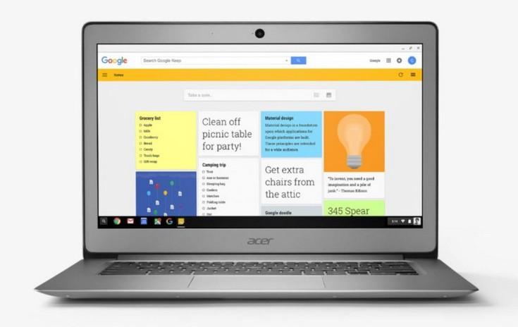 Acer представила два новых хромбука