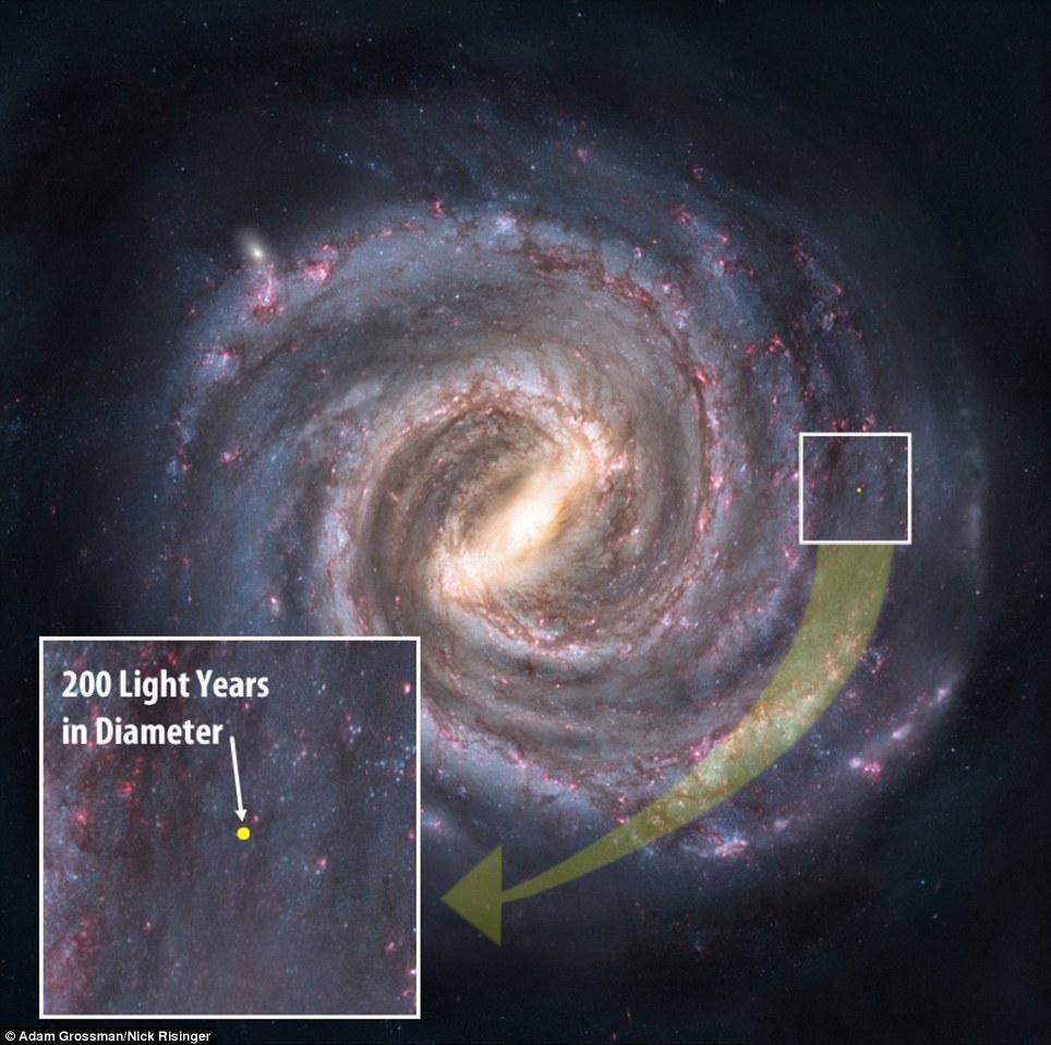 Радиофизики нашли способ «сфотографировать» чёрную дыру - 2