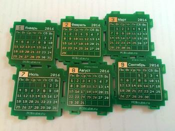 PCB Cube — настольный календарь или абсолютно нежизнеспособная идея - 15
