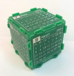 PCB Cube — настольный календарь или абсолютно нежизнеспособная идея - 4