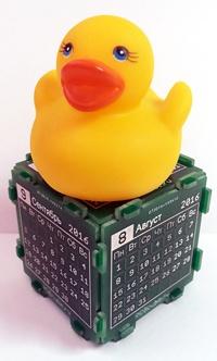 PCB Cube — настольный календарь или абсолютно нежизнеспособная идея - 1