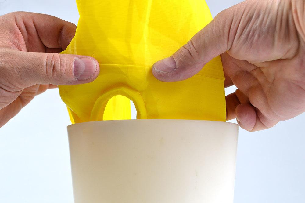 Изготовление основы для маски Psycho из Borderlands 2 на 3D-принтере – клеим PLA дихлорэтаном - 10