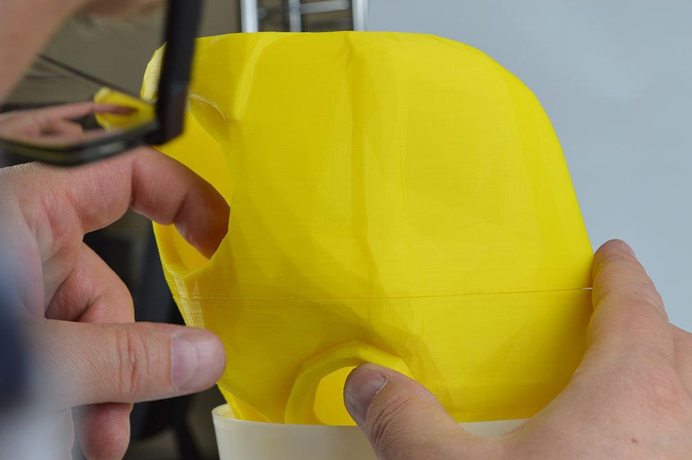 Изготовление основы для маски Psycho из Borderlands 2 на 3D-принтере – клеим PLA дихлорэтаном - 12