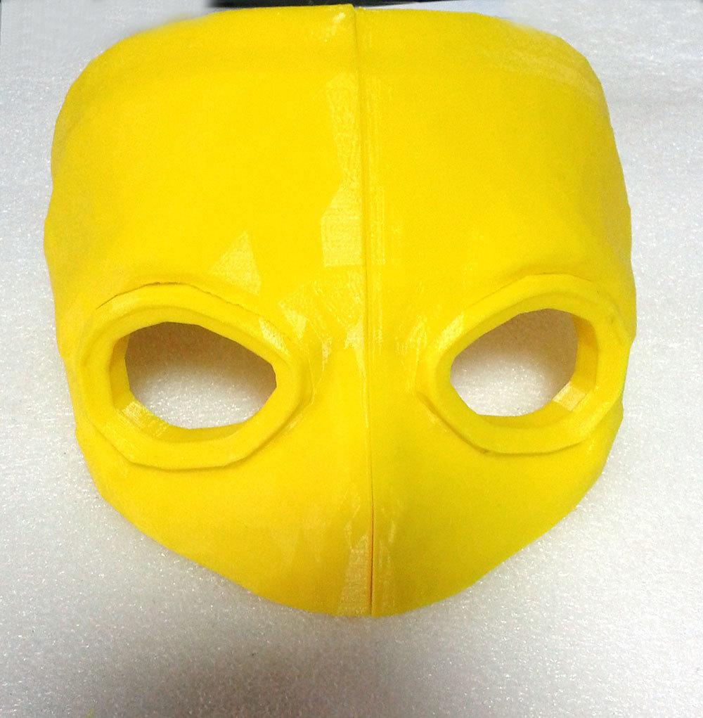 Изготовление основы для маски Psycho из Borderlands 2 на 3D-принтере – клеим PLA дихлорэтаном - 14