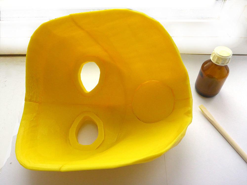 Изготовление основы для маски Psycho из Borderlands 2 на 3D-принтере – клеим PLA дихлорэтаном - 15