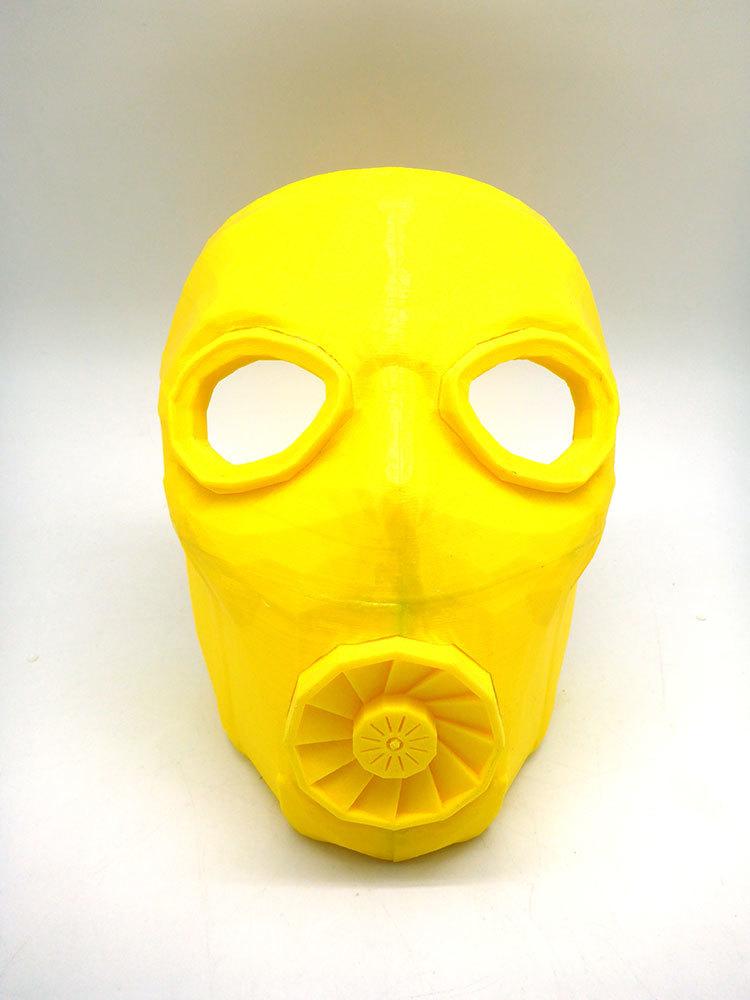Изготовление основы для маски Psycho из Borderlands 2 на 3D-принтере – клеим PLA дихлорэтаном - 17