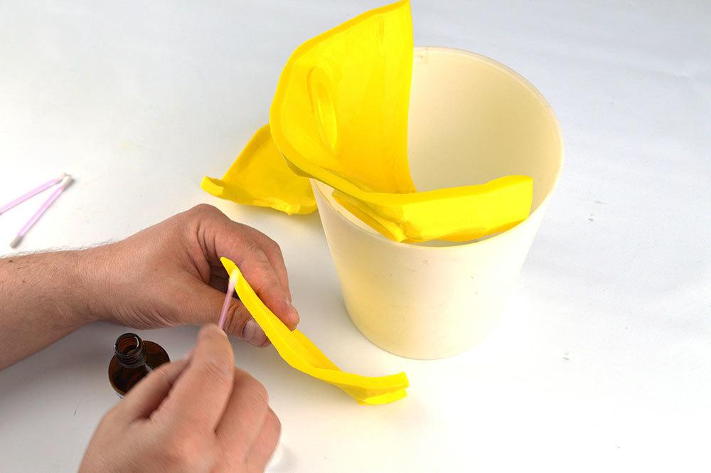 Изготовление основы для маски Psycho из Borderlands 2 на 3D-принтере – клеим PLA дихлорэтаном - 8