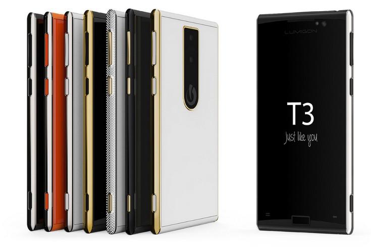 Смартфон Lumigon T3 оценили в $740