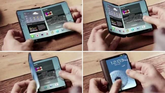 Ожидается, что Samsung выпустит два смартфона с сгибающимися экранами в 2017 году
