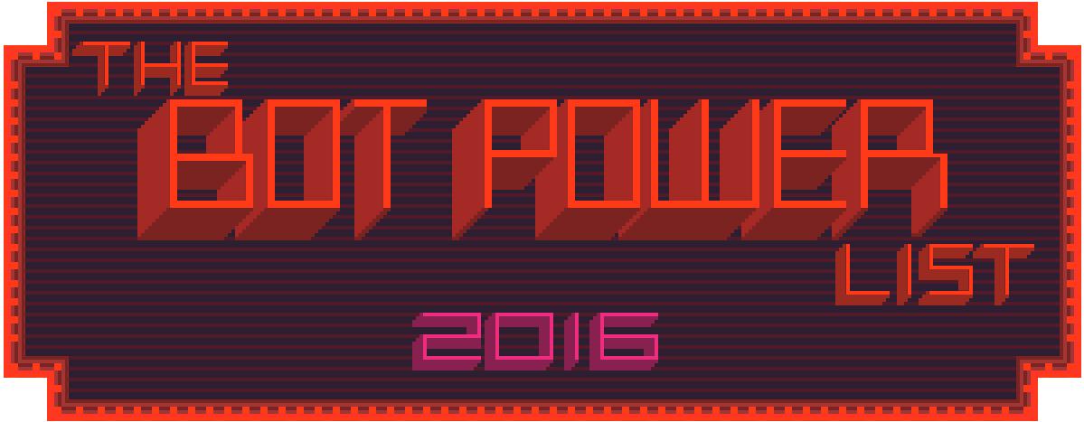 Рейтинг ботов The Bot Power 2016 - 1