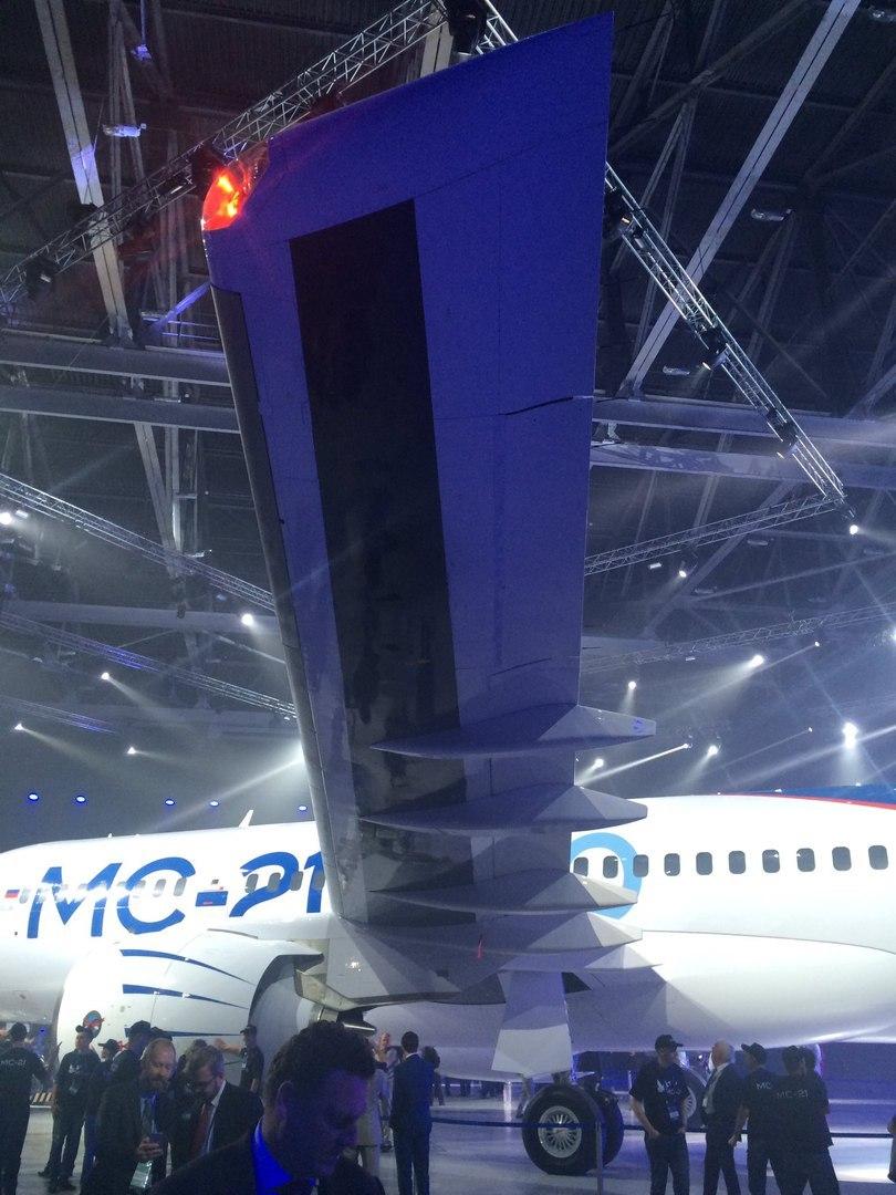Выкатка самолёта МС-21 в Иркутске - 2