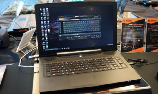 AORUS X7 Pro- геймерский лэптоп, оснащенный двумя графическими картами