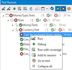 CodeRush for Roslyn: Part 1 — полезные фичи для разработки через тестирование - 7