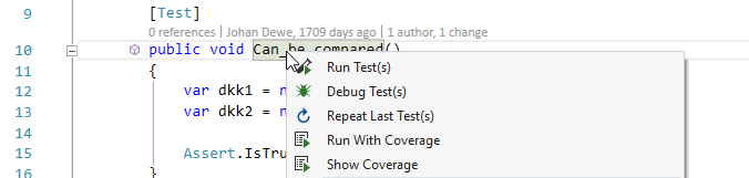 CodeRush for Roslyn: Part 1 — полезные фичи для разработки через тестирование - 1