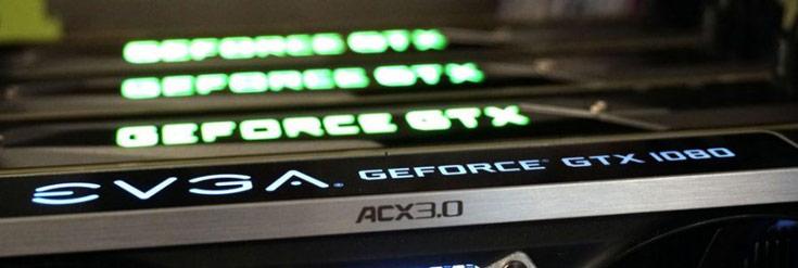 В режиме SLI по умолчанию поддерживаются всего два GPU GeForce GTX 1080