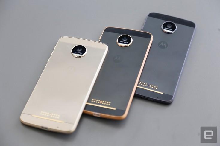 Представлены смартфоны Moto Z и Moto Z Force