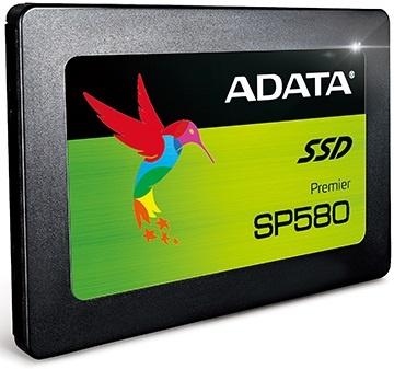 Накопители Adata Premier SP580 получили флэш-память TLC NAND