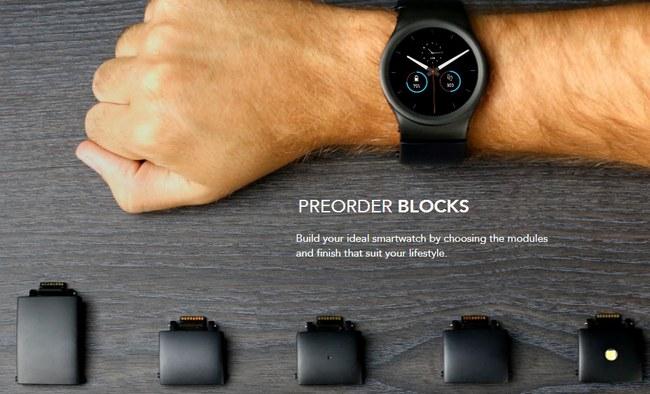 Модульные умные часы Blocks поступят в продажу в октябре 2016 по цене $330