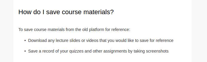 Coursera закрывает курсы на старой платформе. Материалы можно скачать до 30 июня (есть скрипт) - 5