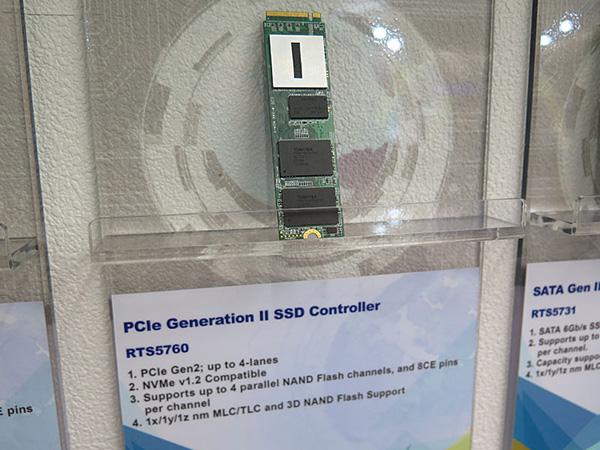 Твердотельный накопитель на контроллере Realtek RTS5760