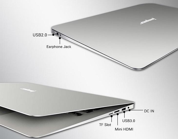 Jumper EZbook 2 является гибридом планшетной платформы с шасси ноутбука