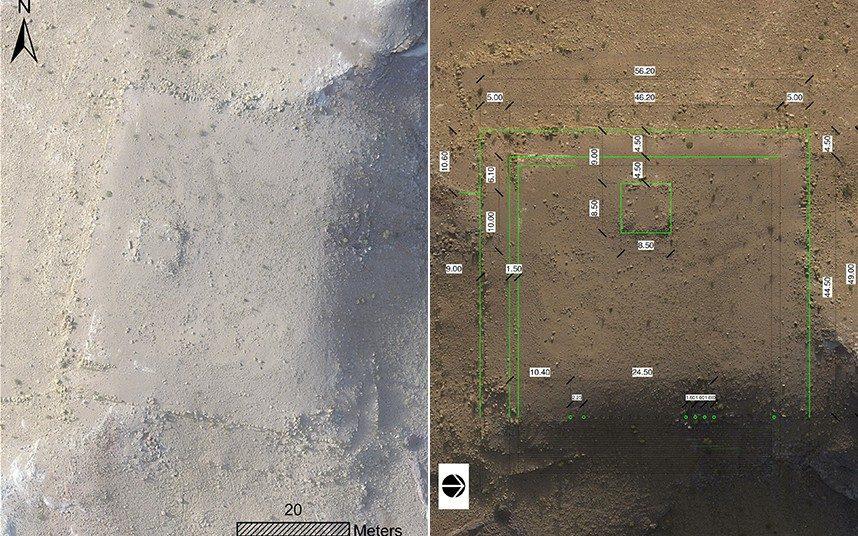 Археологи обнаружили неизвестное ранее древнее сооружение в Иордании благодаря спутниковым снимкам и дронам - 1
