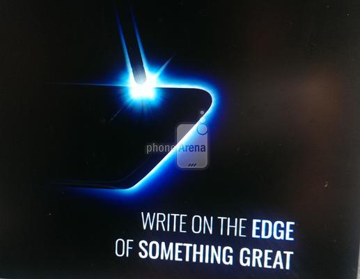 Пользователи Samsung Galaxy Note 7 смогут делать заметки стилусом на изогнутых гранях смартфона