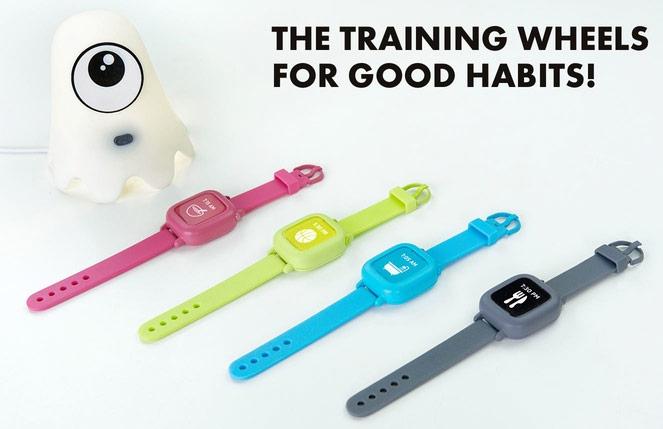 Часы Octopus призваны прививать детям полезные привычки и чувство времени