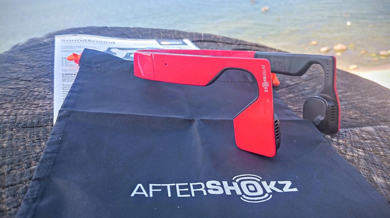 Внешний вид Aftershokz bluez 2