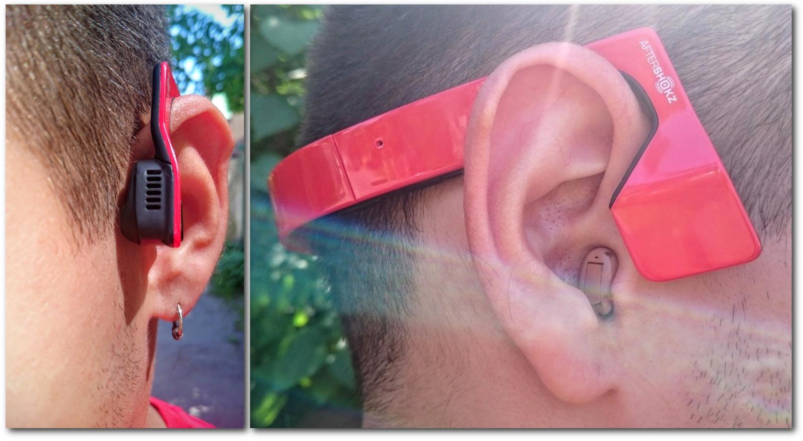 Гарнитура с костной проводимостью звука Aftershokz bluez 2 и человек с нарушением слуха - 9