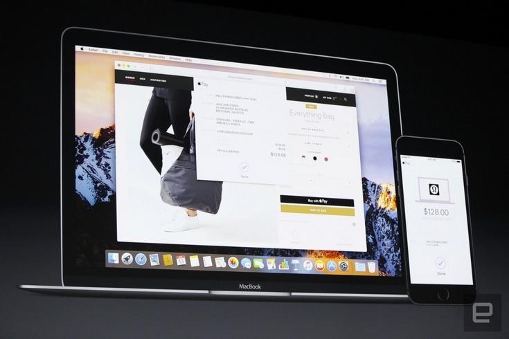 Платёжный сервис Apple Pay попадёт на ПК