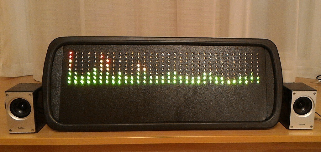 Анализатор-визуализатор спектра аудио сигнала на базе Arduino - 18