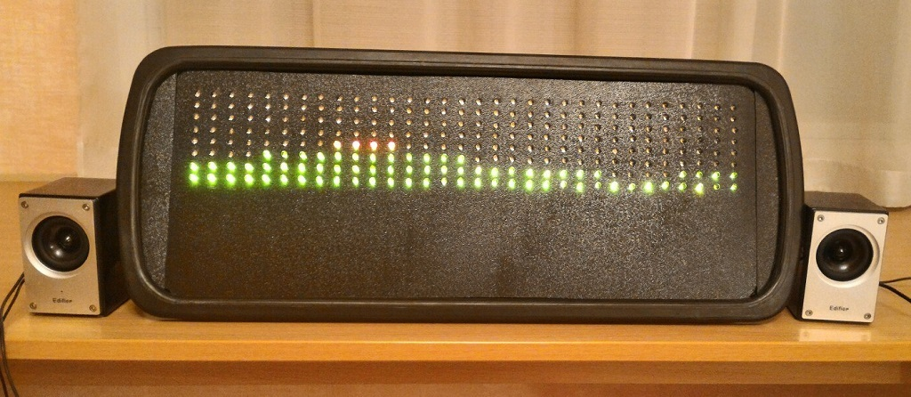 Анализатор-визуализатор спектра аудио сигнала на базе Arduino - 20