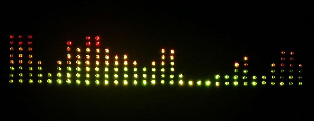 Анализатор-визуализатор спектра аудио сигнала на базе Arduino - 1