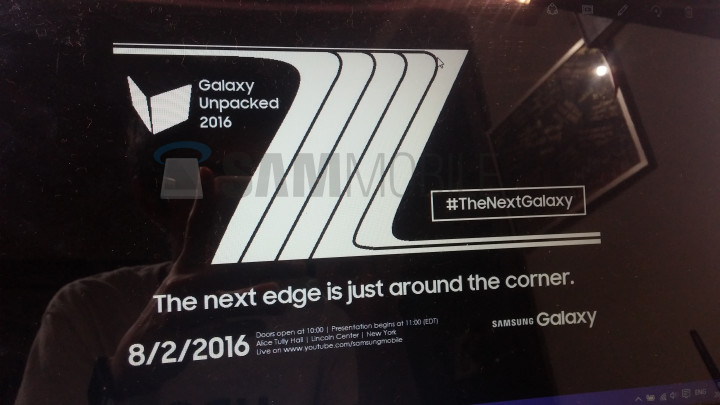 Анонс смартфона Samsung Galaxy Note 7 ожидается 2 августа