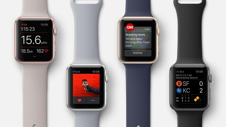 Apple рассчитывает на хороший спрос на новую модель умных часов