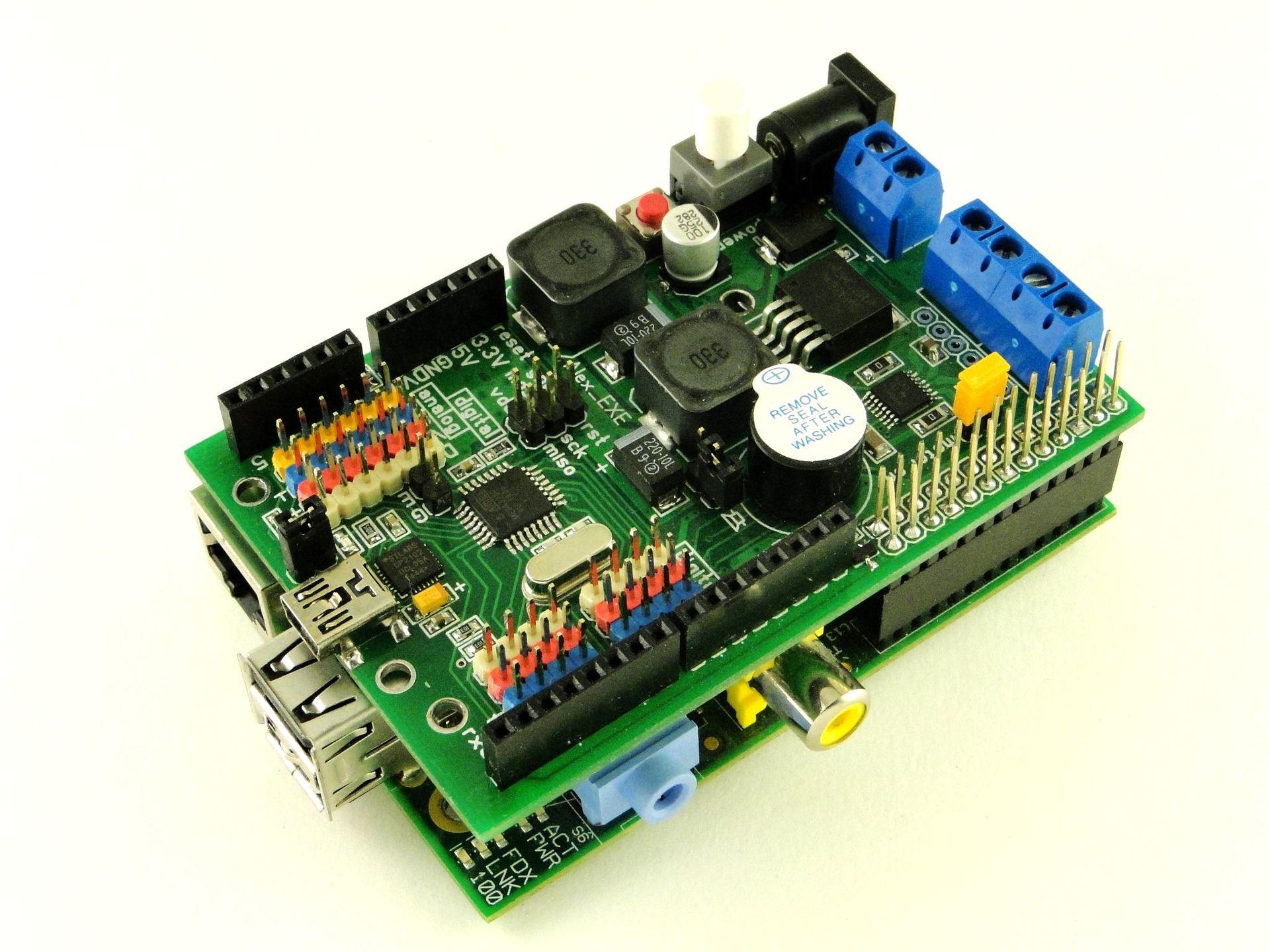 Делаем модуль расширения для Raspberry Pi с Arduino на борту - 1