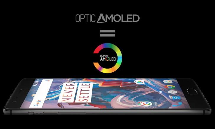 Дисплей Optic AMOLED, установленный в смартфоне OnePlus 3, является дополнительно настроенной панелью Super AMOLED