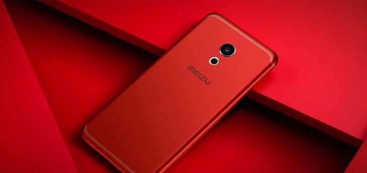 Смартфон Meizu Pro 6 стал доступен в цветах Rose Gold и Flame Red