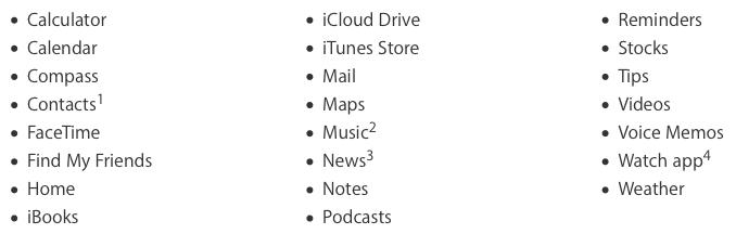 Apple дала возможность пользователям удалять предустановленное в iOS ПО без его фактического удаления