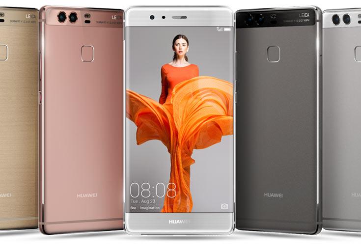 Продажи смартфонов Huawei P9 и P9 Plus стартовали в апреле