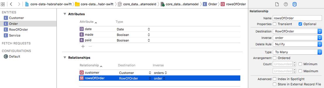 Core Data + Swift для самых маленьких: необходимый минимум (часть 1) - 10