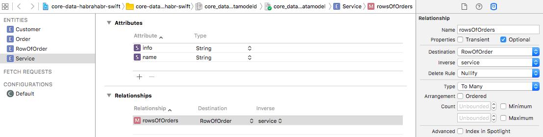 Core Data + Swift для самых маленьких: необходимый минимум (часть 1) - 11