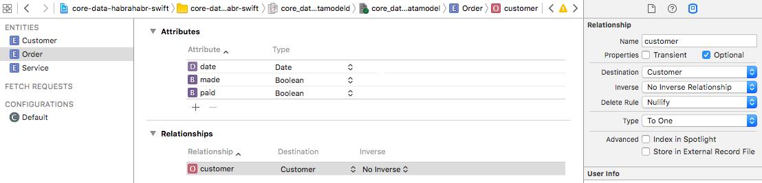 Core Data + Swift для самых маленьких: необходимый минимум (часть 1) - 6