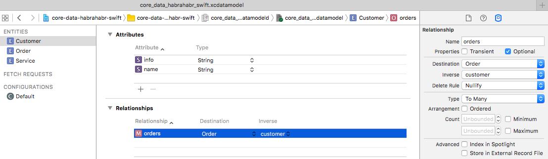 Core Data + Swift для самых маленьких: необходимый минимум (часть 1) - 8