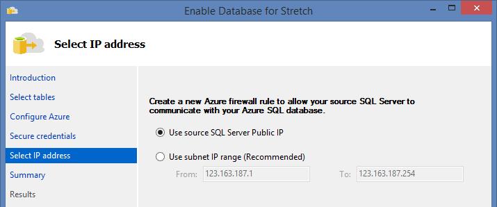 SQL Server 2016 Stretch Database - 10