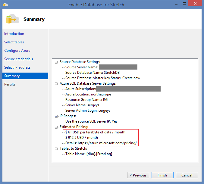 SQL Server 2016 Stretch Database - 11