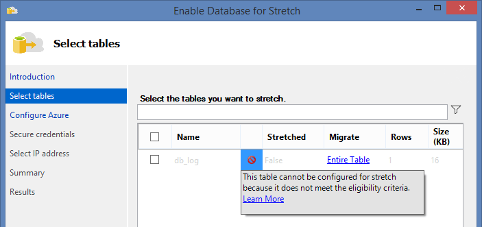SQL Server 2016 Stretch Database - 4