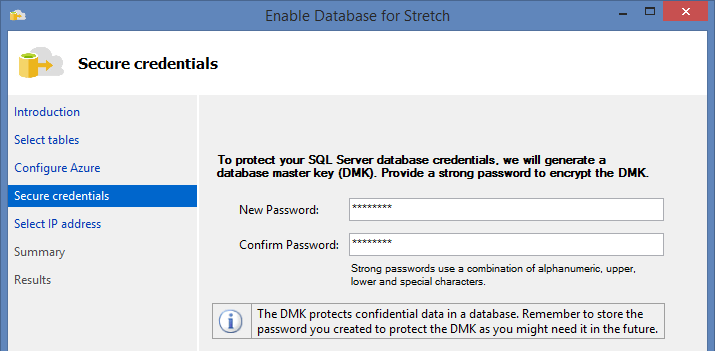 SQL Server 2016 Stretch Database - 9